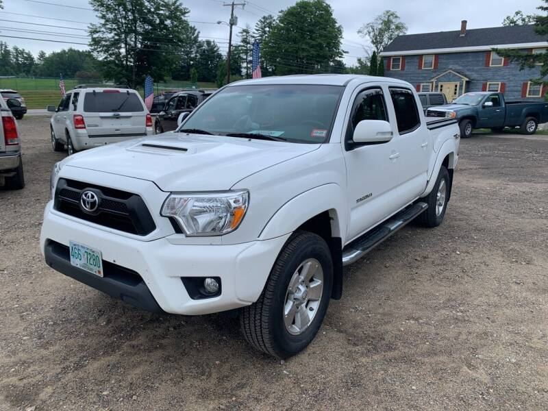 2015 Toyota Tacoma for sale at Winner's Circle Auto Sales in Tilton NH