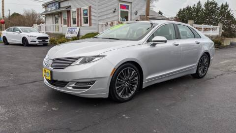 2016 Lincoln MKZ for sale at RBT Automotive LLC in Perry OH