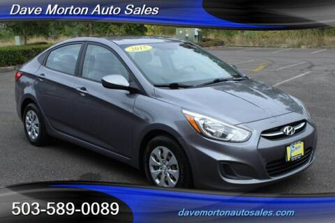 2015 Hyundai Accent for sale at Dave Morton Auto Sales in Salem OR