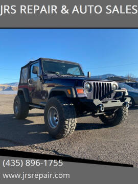1999 Jeep Wrangler for sale at JRS REPAIR & AUTO SALES in Richfield UT