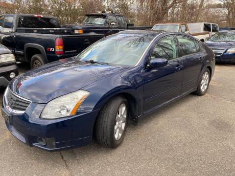 2007 Nissan Maxima for sale at East Windsor Auto in East Windsor CT