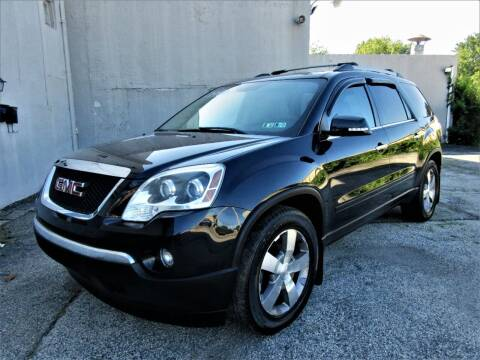 2012 GMC Acadia for sale at New Concept Auto Exchange in Glenolden PA