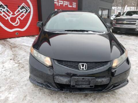 2012 Honda Civic for sale at Apple Auto Sales Inc in Camillus NY