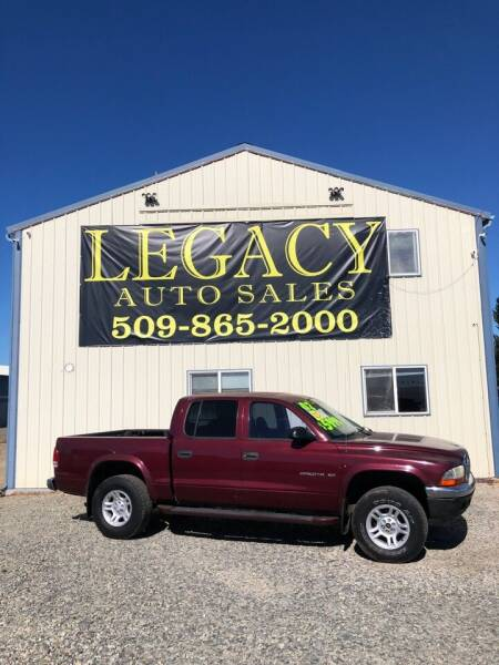 2002 Dodge Dakota for sale at Legacy Auto Sales in Toppenish WA