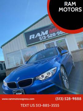 2015 BMW 4 Series for sale at RAM MOTORS in Cincinnati OH