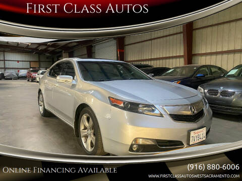 2013 Acura TL for sale at Car Source Center in West Sacramento CA