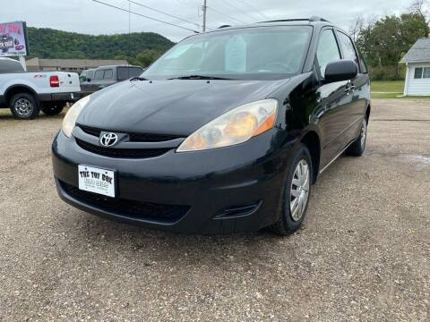 2008 Toyota Sienna for sale at Toy Box Auto Sales LLC in La Crosse WI