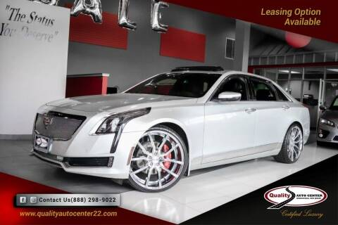 2016 Cadillac CT6 for sale at Quality Auto Center in Springfield NJ