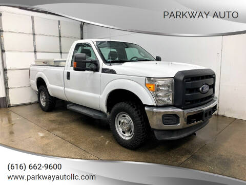 2013 Ford F-250 Super Duty for sale at PARKWAY AUTO in Hudsonville MI