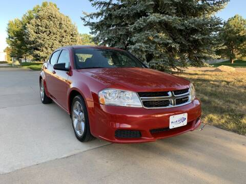 2014 Dodge Avenger for sale at Blue Star Auto Group in Frederick CO
