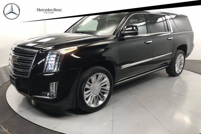 2018 Cadillac Escalade ESV for sale at Stephen Wade Pre-Owned Supercenter in Saint George UT