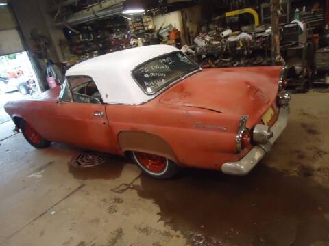 1955 Ford Thunderbird for sale at Marshall Motors Classics in Jackson Michigan MI