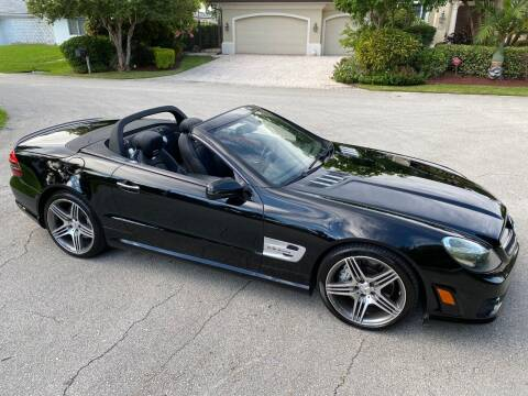 2009 Mercedes-Benz SL-Class for sale at Exceed Auto Brokers in Pompano Beach FL
