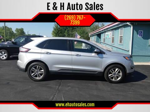 2017 Ford Edge for sale at E & H Auto Sales in South Haven MI