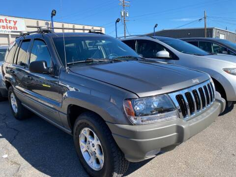 2002 Jeep Grand Cherokee for sale at New Wave Auto Brokers & Sales in Denver CO