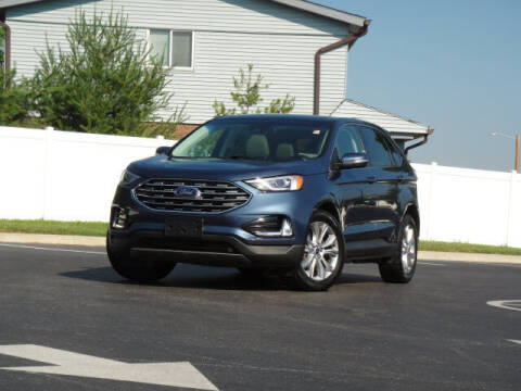 2019 Ford Edge for sale at Jack Schmitt Chevrolet Wood River in Wood River IL