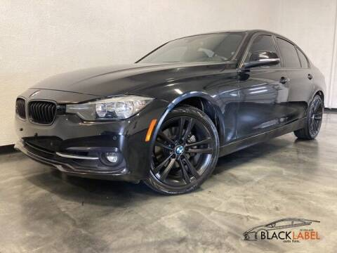 2016 BMW 3 Series for sale at BLACK LABEL AUTO FIRM in Riverside CA