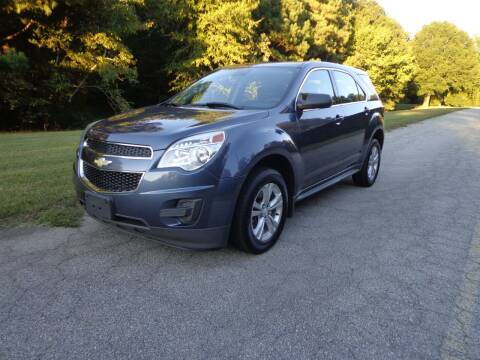 2013 Chevrolet Equinox for sale at CAROLINA CLASSIC AUTOS in Fort Lawn SC