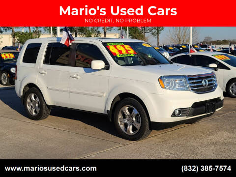 2014 Honda Pilot for sale at Mario's Used Cars in Houston TX