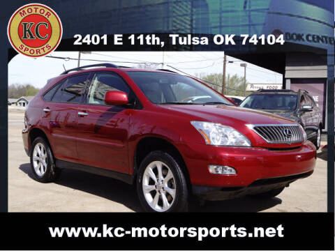 2009 Lexus RX 350 for sale at KC MOTORSPORTS in Tulsa OK