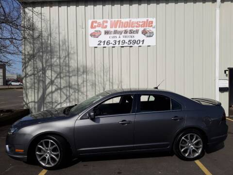 2011 Ford Fusion for sale at C & C Wholesale in Cleveland OH
