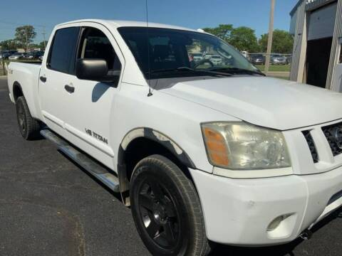 2008 Nissan Titan for sale at All Affordable Autos in Oakley KS