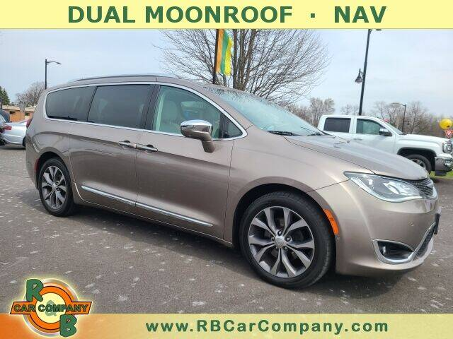 2017 Chrysler Pacifica for sale at R & B CAR CO - R&B CAR COMPANY in Columbia City IN