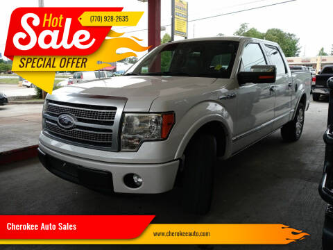 2012 Ford F-150 for sale at Cherokee Auto Sales in Acworth GA