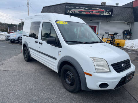 2013 Ford Transit Connect for sale at Maple Street Auto Center in Marlborough MA
