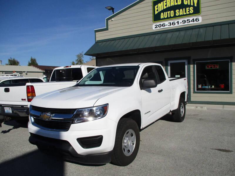 2019 Chevrolet Colorado for sale at Emerald City Auto Inc in Seattle WA
