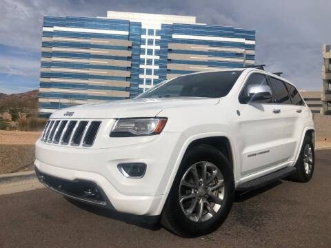 2014 Jeep Grand Cherokee for sale at Day & Night Truck Sales in Tempe AZ