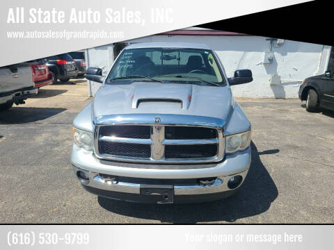 2005 Dodge Ram Pickup 2500 for sale at All State Auto Sales, INC in Kentwood MI