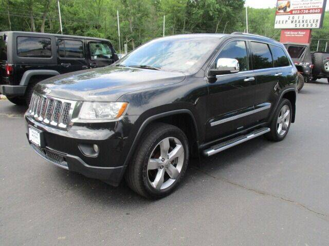 2013 Jeep Grand Cherokee for sale at Route 4 Motors INC in Epsom NH