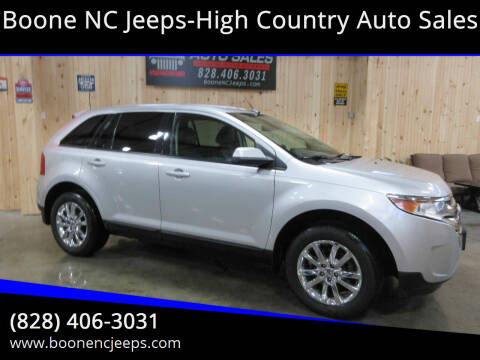 2014 Ford Edge for sale at Boone NC Jeeps-High Country Auto Sales in Boone NC