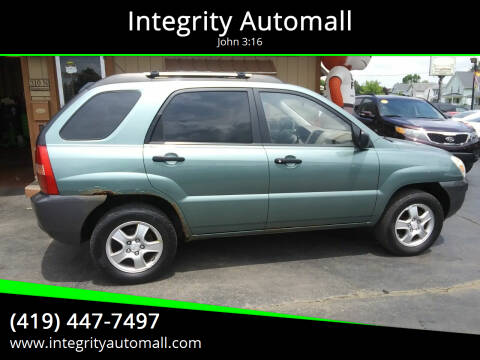 2008 Kia Sportage for sale at Integrity Automall in Tiffin OH