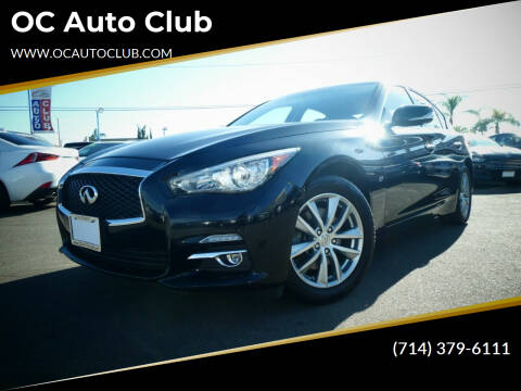 2014 Infiniti Q50 for sale at OC Auto Club in Midway City CA