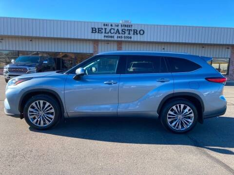 2020 Toyota Highlander Hybrid for sale at Belcastro Motors in Grand Junction CO