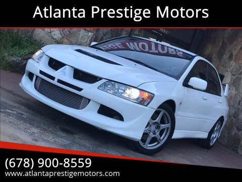 2005 Mitsubishi Lancer Evolution for sale at Atlanta Prestige Motors in Decatur GA