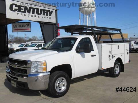 2009 Chevrolet Silverado 2500HD for sale at CENTURY TRUCKS & VANS in Grand Prairie TX
