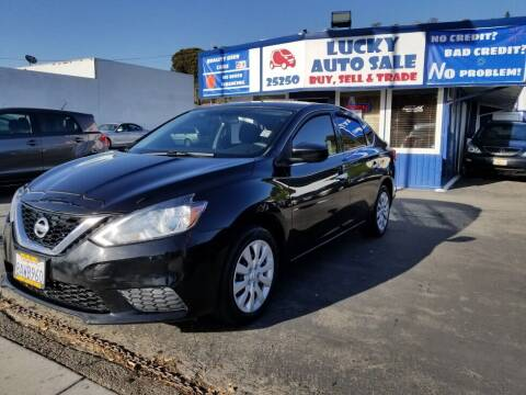 2016 Nissan Sentra for sale at Lucky Auto Sale in Hayward CA