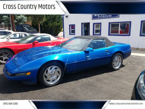 1993 Chevrolet Corvette for sale at Cross Country Motors in Loveland CO