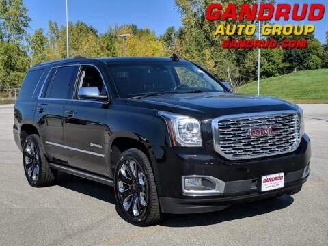 2018 GMC Yukon for sale at Gandrud Dodge in Green Bay WI
