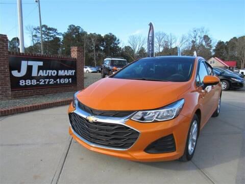 2019 Chevrolet Cruze for sale at J T Auto Group in Sanford NC