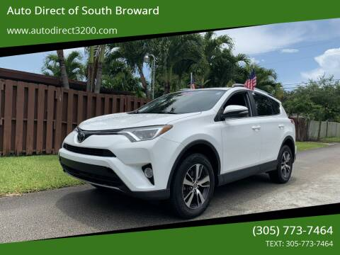 2017 Toyota RAV4 for sale at Auto Direct of South Broward in Miramar FL