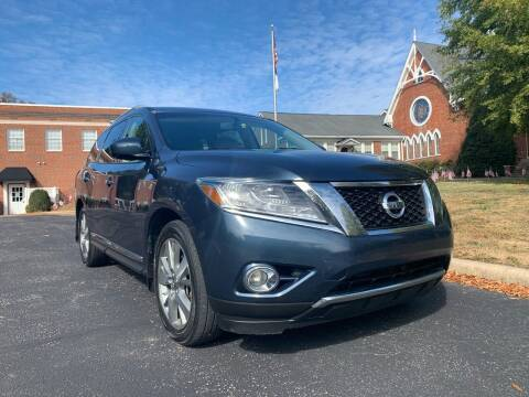2013 Nissan Pathfinder for sale at Automax of Eden in Eden NC