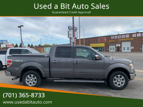 2013 Ford F-150 for sale at Used a Bit Auto Sales in Fargo ND