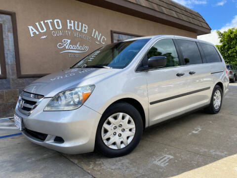 2005 Honda Odyssey for sale at Auto Hub, Inc. in Anaheim CA