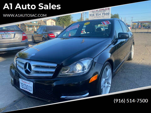 2013 Mercedes-Benz C-Class for sale at A1 Auto Sales in Sacramento CA