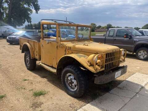 1961 Dodge Powerwagon for sale at B & B Auto Sales in Brookings SD