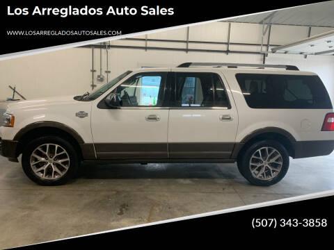 2015 Ford Expedition EL for sale at Los Arreglados Auto Sales in Worthington MN